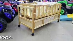 Wooden Cot Review Baby Cradle With Draw