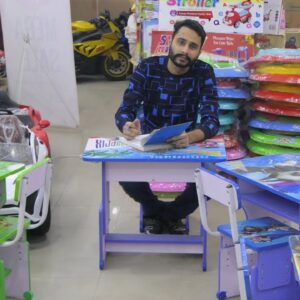 Study Table For Kids with Chair Wooden